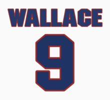 National baseball player Lefty Wallace jersey 9 by imsport