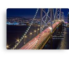 San Francisco Bay Bridge Canvas Print