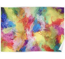 """""""In a Dream No.5"""" original abstract artwork by Laura Tozer Poster"""