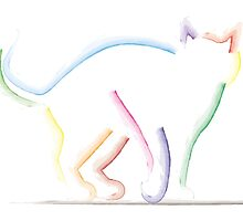 Colored Cat by berkup