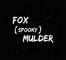Fox 'Spooky' Mulder by LizTresidder