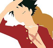 One Piece Luffy by jan55555