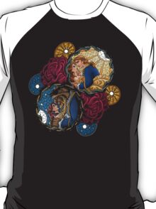 The Beauty and The Beast Disney - Main Scenes T-Shirt