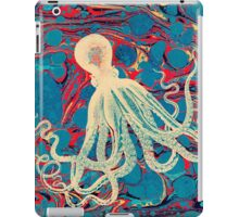 Marbling Paper Octopus Blob by Pepe Psyche iPad Case/Skin