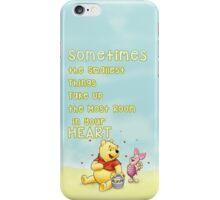 Winnie the Pooh - Firend Quote Disney iPhone Case/Skin