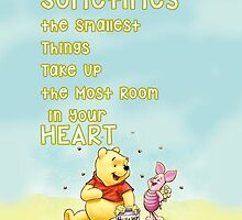 Winnie the Pooh - Firend Quote Disney by peetamark