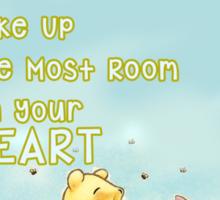 Winnie the Pooh - Firend Quote Disney Sticker