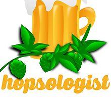 Funny Beer Drinker: Hopsologist by mralan