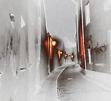 OLD TOWN Vilnius Lithuania, Abstract photograph by bjphotographs