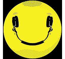 Smiley Music Photographic Print