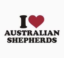 I love Australian shepherds by Designzz