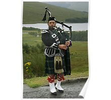Scottish Piper Poster
