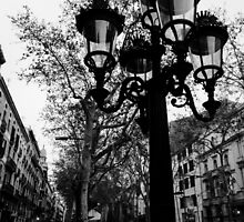 Barcelona - La Rambla by Andrea Mazzocchetti