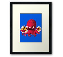 "Bubble Heroes - Boris the Octopus ""Starfish"" Edition Framed Print"