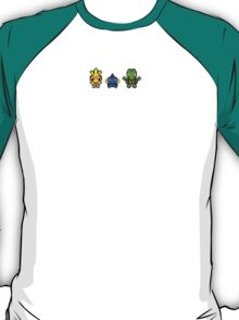 Pokemon Hoenn Starters T-Shirt