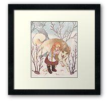 The Little Snow Girl Framed Print