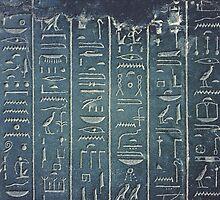 Hieroglyphs by MattHollinshead