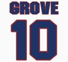 National baseball player Lefty Grove jersey 10 by imsport