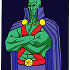 Martian Manhunter Color by Teroso