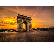 Arc De Triomphe 2 Photographic Print