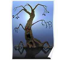 Tree with Attitude Poster