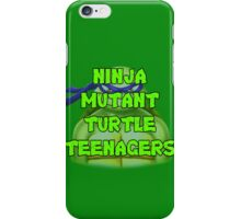 Ninja Mutant Turtle Teenagers Donatello iPhone Case/Skin