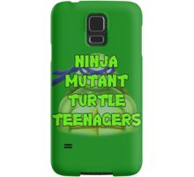 Ninja Mutant Turtle Teenagers Donatello Samsung Galaxy Case/Skin