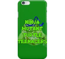Ninja Mutant Turtle Teenagers Leonardo iPhone Case/Skin