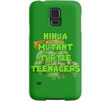 Ninja Mutant Turtle Teenagers Michelangelo Samsung Galaxy Case/Skin
