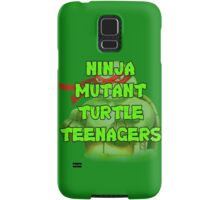 Ninja Mutant Turtle Teenagers Raphael Samsung Galaxy Case/Skin