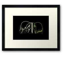 Avatar - Korra And Asami Framed Print