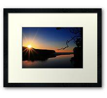 A Little Radiance Framed Print