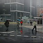 Macau City Rain by Mark Hayward