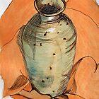 Stoneware Vase  by Evelyn Smoldon