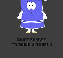 Towelie - Don't forget to bring a towel ! by OppaiMaster