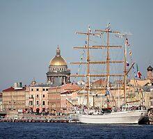 Cuauhtemoc  Mexican three-masted barque  by mrivserg