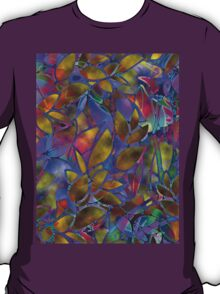 Floral Abstract Stained Glass T-Shirt