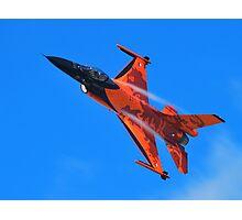 Flying Orange Photographic Print