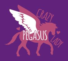 Crazy pegasus lady by jazzydevil