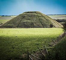 Light Shining on Silbury Hill by Nicole Petegorsky