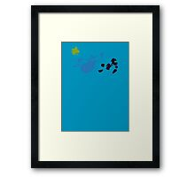 Follow Me Into The Glade Of Dreams Framed Print
