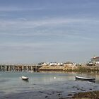 Swanage Pier Dorset UK by Pauline Tims
