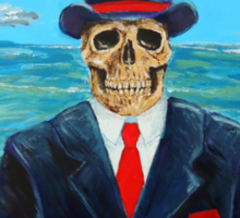 After Magritte Sticker