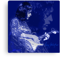 RORY GALLAGHER BLUESMAN Canvas Print