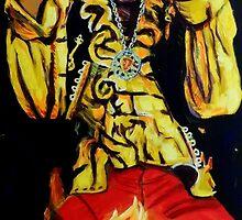 Jimi Hendrix by Paul Wolff