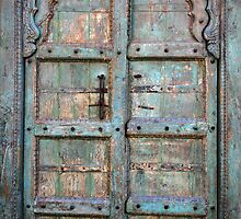 Cape Dutch Door by Adrianne Yzerman