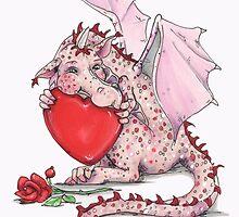 Kissy Dragon by Joanna Bromley