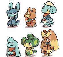 animal crossing pokemon crossover by MasterRacePC