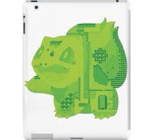 bulbasaur cool design old school pokemon iPad Case/Skin