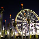 Federation Bells and Giant Sky wheel by melbourne